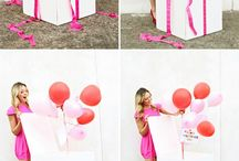 Birthday ideas / Decorations, gifts and party ideas