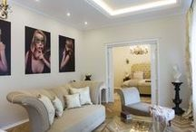 Illy's Apartment / Feminine white and Art Deco.
