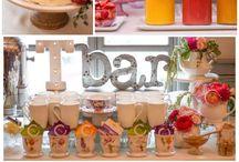 Spring tea / Tea party: decorations, food, ideas, organization and invitations