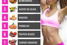 Exercise and training/ Ejercicio / Training, food tips and exercises