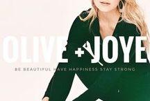 """Introducing Olive + Joye / """"Be beautiful. Have happiness. Stay strong!""""  Active wear + Athleisure ♂️♀️#OLIVEANDJOYE www.oliveandjoye.com"""