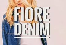 F I O R E by Tres Bien / FIORE by Tresbien. Denim & Young contemporary wholesale clothing for women.  Back to the essentials: food water denim #FIOREYC www.shopfiore.com