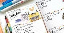 Prelogram® - Journals / Get inspiration, hints and tips on how to create your bullet journal.