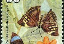 Timbres Asie du Sud Est / Collection de timbres d'Asie du Sud Est