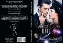 Head Over Wheels (new adult romance) / Turning 21 hasn't proven very fruitful for Jewelia, who's lost a boyfriend and failed two classes. Sights set on a career with the NYPD, she's on course until she meets irresistible and unpredictable Med Student, Indigo, who contradicts everything she thought she knew about Life, Love, Commitment & Sex. Available on Amazon, Barnes & Noble, Kobo, Water Forest Press Books.