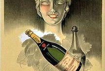 Pub/ France : Champagne / Champagne et  Vins Mousseux... / by Anny GL