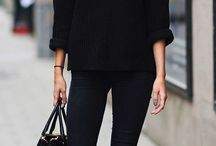 Winter Fashion / Winter fashion ideas.. I love winter, big jumpers and boots ...