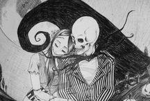 Jack and Sally ...Mad love / by ѕwєєt tєmptαtíσn