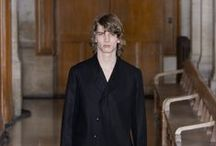 Fall-Winter 2016/2017 Men's Presentation / Lemaire Men's Fall-Winter 2016/2017 Presentation. Paris, Université René Descartes.