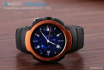 Awatch / Best Smartwatch phone 3G Android 5.1 round & camera