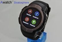 Awatch Stratosphere / Smartwatch 3G Android 5.1 round display & camera