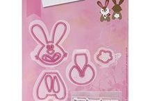 lapin -Bunny COL354 - MarianneDesign /  lapin -Bunny COL1354   Collectables Marianne design