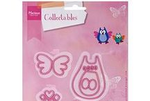 chouette hibou - Family Owl  COL1357   marianne design / chouette hibou - Family Owl  COL1357   marianne design