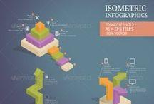 Infographic Template / Infographic template for ecommerce, 3D funnel, sales funnel template