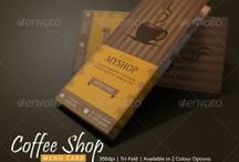 Coffee Shop Menu / Coffee Shop Menu for Coffee shop owners to advertise their best coffee brands.