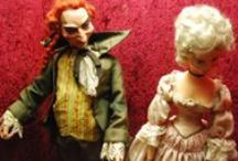 Puppets and original dolls art