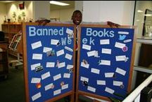 Banned Books Week 2014 / Collection of Banned Books for this year's display.