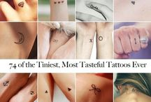 Tattoos and tattoo ideas / Cute ideas if you ever want to get a tattoo
