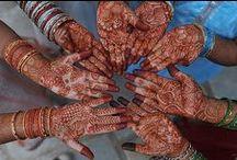 Mehndi / henna tattoos