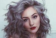 Platinum e granny hair / Cabelos platinados e acinzentados para se inspirar