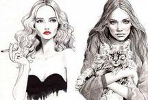 illustrations/patterns