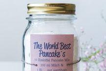 Backmischungen - Baking Mixes / Backmischungen … aufgemotzt und liebevoll dekoriert ... das perfekte Geschenk Baking Mixes ... styled and decorated ... the perfect gift