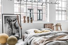 Bedroom. / I could fall madly in bed with you..