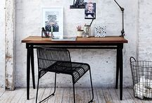 Workspace. / What a way to make a living..