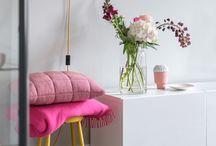 Pink. / Pretty pink..