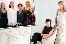 In the Studio  / Elizabeth de Varga Exclusive Fashions - A peak behind the curtain...