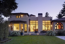 Menlo Park Residence, Menlo Park, CA / An extensive remodel transformed this formerly dark, traditional residence into an open, contemporary family home. We installed a new steel window and door system that floods the interior with light and creates direct connections to a series of outdoor spaces. Green elements such as radiant heat and solar thermal panels align with the client's interest in sustainability. Architect: Karin Payson a+d - Staprans Design. Photography: Matthew Millman.