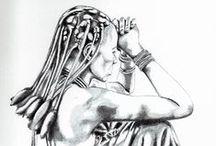 my works / I miei disegni