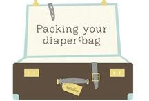 Diaper Bag / Don't know what to put in your diaper bag? Here are some tips!
