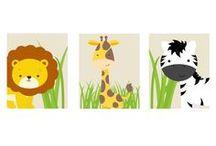 Art / Fun art to decorate the nursery!