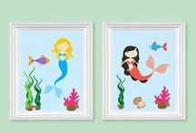 Sea Themed Nursery / Fun sea them nursery ideas!
