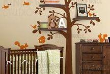 Woodland Themed Nursery / Fun woodland themed nursery ideas!