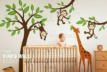 Jungle Themed Nursery / Jungle Theme Nursery Ideas