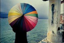 Umbrellas / by She E