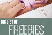 Freebies / Who doesn't love FREE stuff?