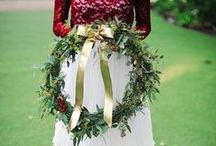 Christmas Inspired Bouquets /