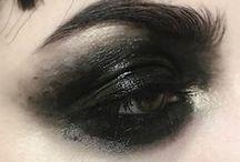 Black, black smokey eyes - Fekete, füstös szemek