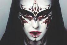 Dark queen - makeup inspiration