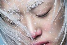 Winter queen - makeup inspiration