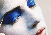 Blue eye makeup / Kék szem sminkek