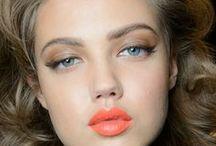 Orange & peach- makeup inspiration- narancs és barack smink inspirációk