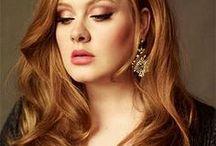 best makeup photos - Adele sminkek