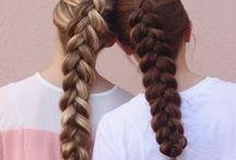 braided hair - gyönyörű fonások / fonott hajak / frizurák