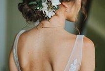 wedding hair inspiration / esküvői hajak / esküvői frizurák