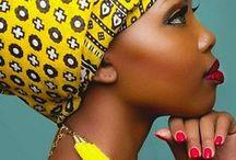 IIQHIYA / African headgear for women. iduku, iqhiya,
