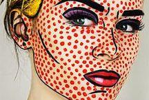 pop art makeup / Pop art sminkek
